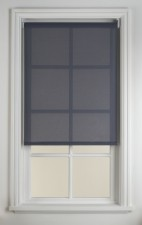 Grey/blue Translucent Blind