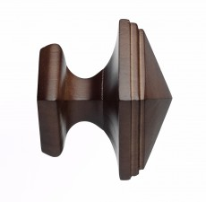 Dark Oak Square finial