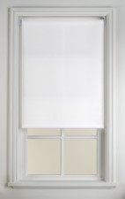 White Translucent Blind